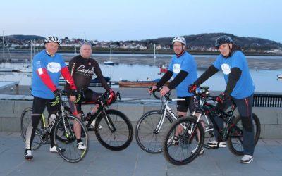 Fundraising Cycle Ride – Diolch yn Fawr!